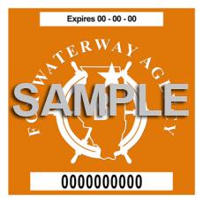 FoxWaterwaySticker